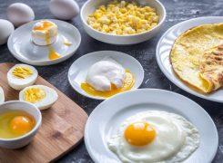 سالمترین روش طبخ و خوردن تخم مرغ
